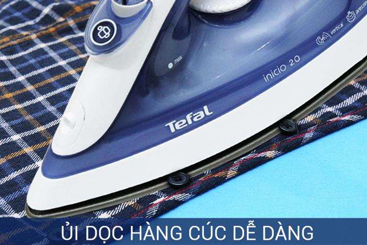 Bàn Ủi Hơi Nước TEFAL FV1220 - Xám Trắng