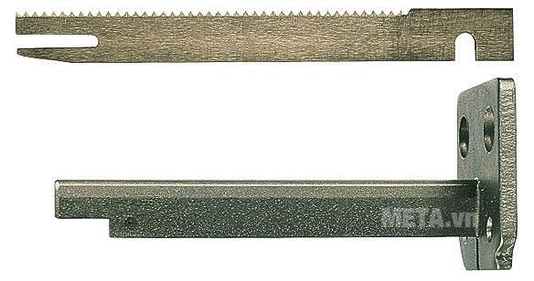Hình ảnh thanh dẫn và lưỡi cắt xốp mút của máy cắt xốp Bosch GSG 300