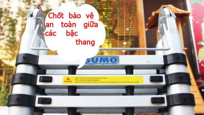 Thang nhôm rút gọn SUMO ADT806B