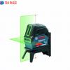 Máy cân mực laser tia xanh Bosch GCL 2-15 G