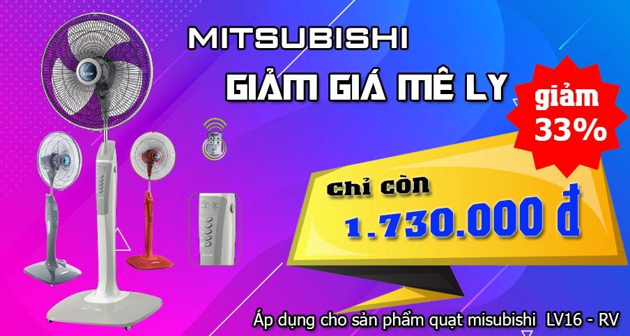 Quạt Mitsubishi lv16 rv