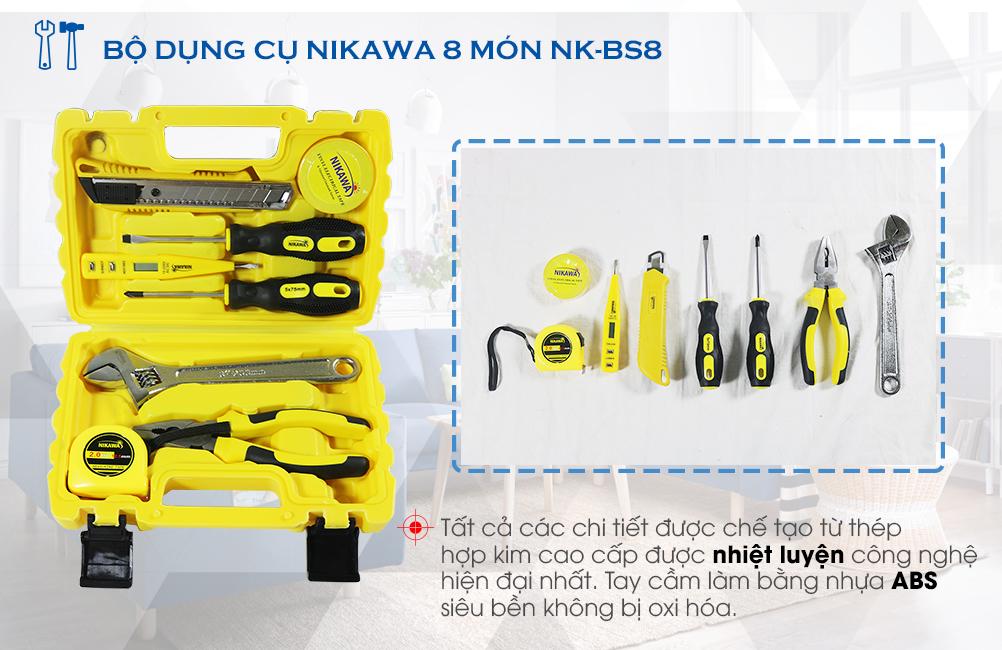 Bộ dụng cụ 8 món Nikawa NK-BS008