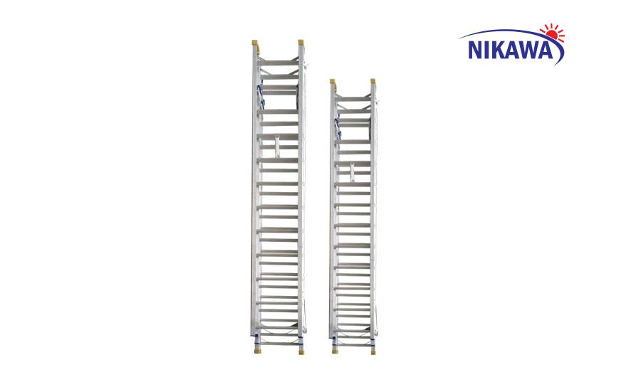 Kết quả hình ảnh cho Thang trượt 2 đoạn NIKAWA NKT-A08