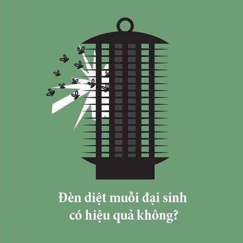 Đèn bắt muỗi Đại Sinh có hiệu quả không?