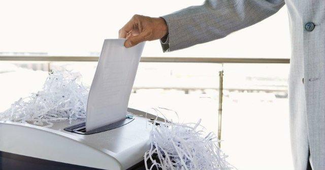 Máy hủy tài liệu được sử dụng phổ biến tại các cơ quan, tổ chức, doanh nghiệp.