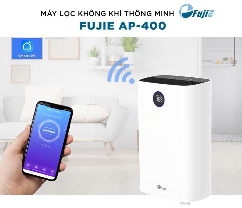 Máy lọc không khí kết nối Wifi FujiE AP400
