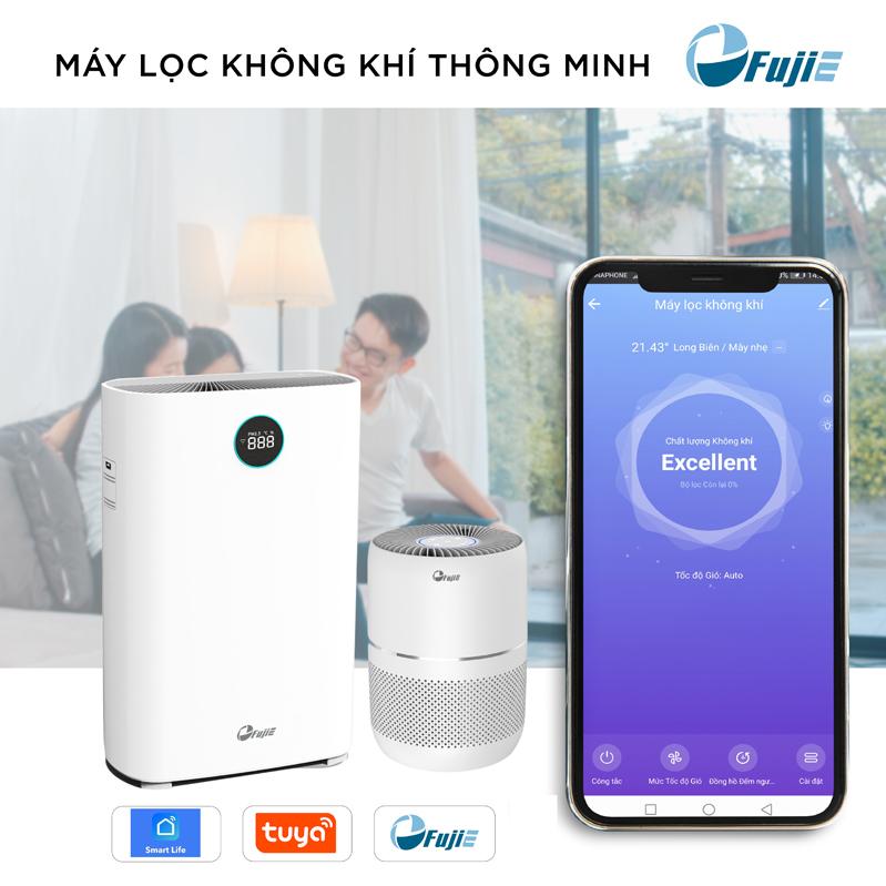 Máy lọc không khí kết nối Wifi FujiE AP300
