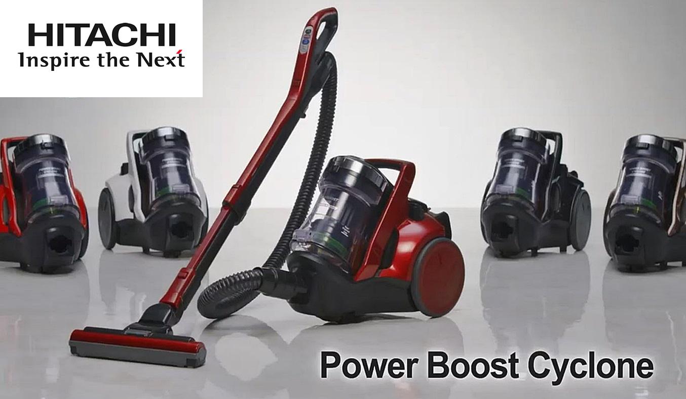 Máy hút bụi Hitachi CV-SC230V động cơ 2300W mạnh mẽ