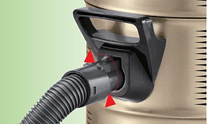 Hút bụi Hitachi CV-950F 24CV(PG) với thiết kế ống không xoắn