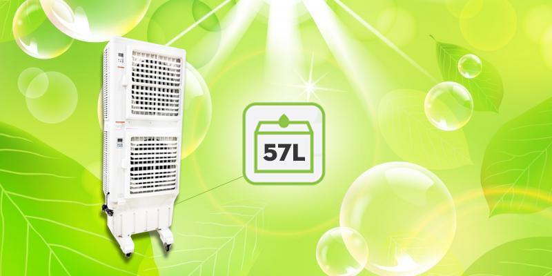 Quạt điều hòa không khí iCool IC-702 khoang chứa nước lớn