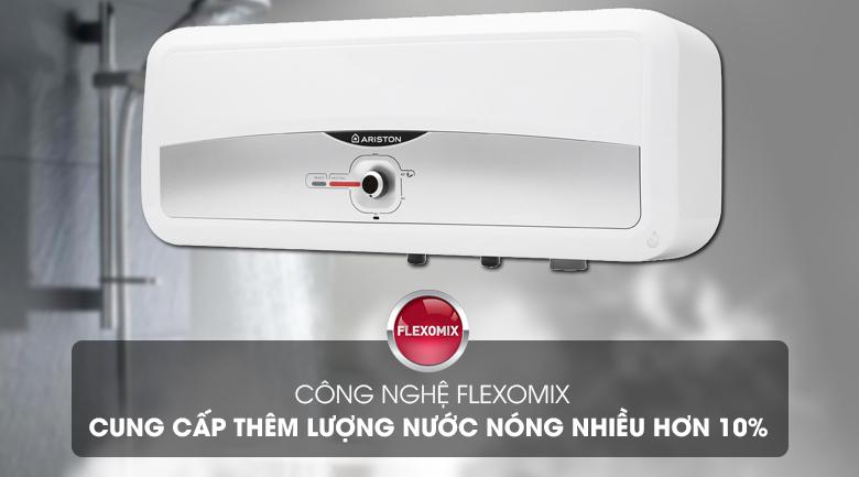 Công nghệ Flexomix - Cung cấp thêm lượng nước nóng sử dụng