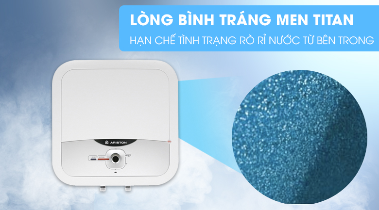 Tráng men Titan lòng bình - Bình nóng lạnh Ariston AN2 RS 15 lít