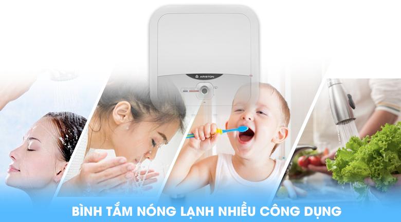 Bình tắm nóng lạnh nhiều công dụng - Bình nóng lạnh Ariston AN2 RS 15 lít