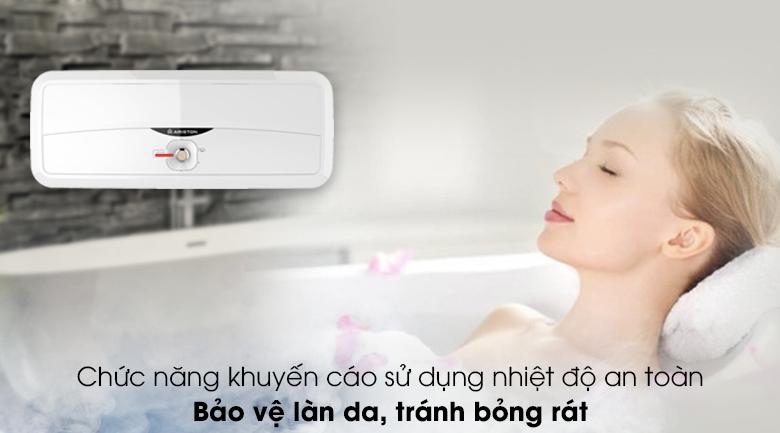 Bình nước nóng Ariston 20 lít SL2 20 R 2.5FE - MT - Bảo vệ da tránh bỏng rát