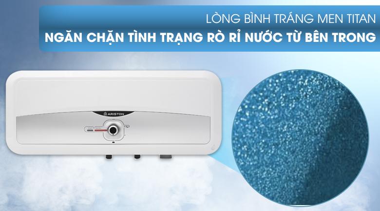 Lòng bình tráng lớp men TITAN - Bình nóng lạnh Ariston 20 lít SL2 20 RS 2.5 FE