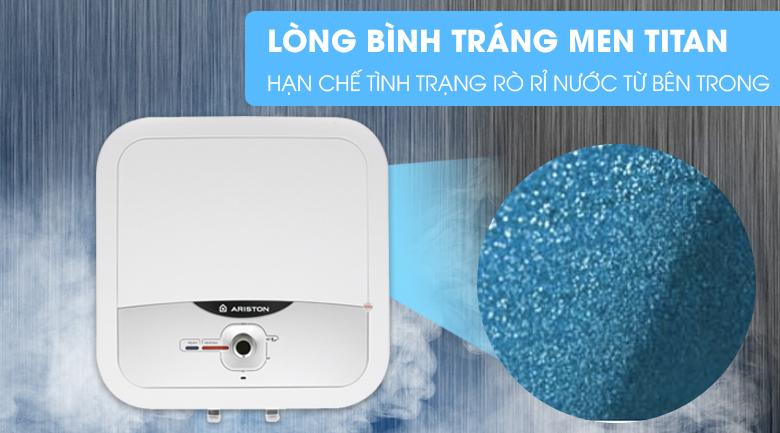 Tráng men Titan - Bình nóng lạnh Ariston AN2 RS 30 lít
