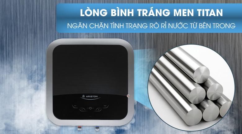 Lòng bình tráng men titan - Bình nóng lạnh Ariston 30 lit AN2 30 TOP WIFI 2.5 FE