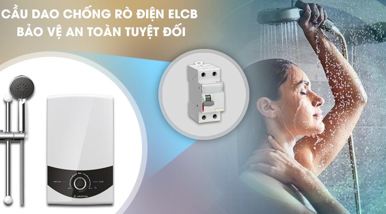 Cầu giao ELCB - Máy nước nóng Ariston SMC45E-VN 4500W